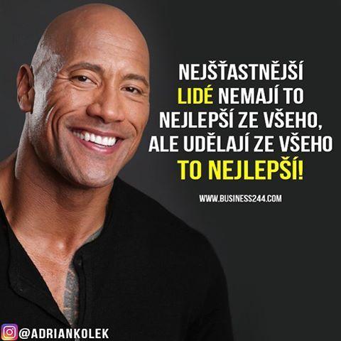 Nejšťastnější lidé nemají to nejlepší ze všeho, ale udělají ze všeho to nejlepší!  #motivace #uspech #motivacia #citaty #czech #slovak #czechgirl #czechboy #slovakgirl #slovakboy #motivation #lifequotes #success #business #entrepreneur