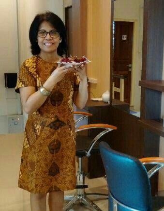 Dress batik from Batik Keris Indonesia