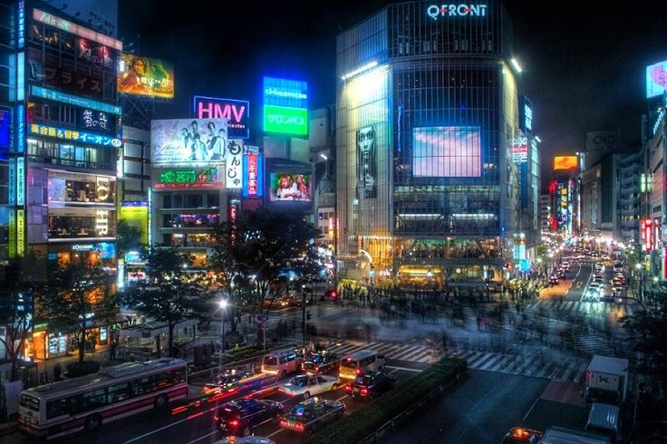 Most congested crossing in the world (Shibuya-Tokyo) #tokyo #japan #travel #photography