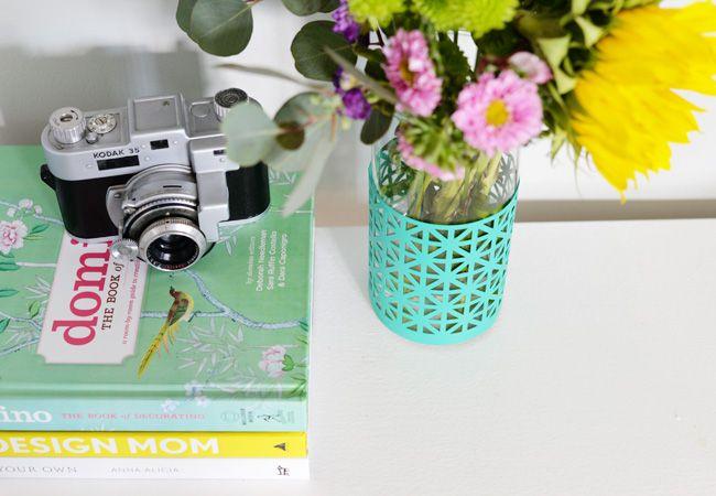 DIY A Patterned Vase for the Start of Spring