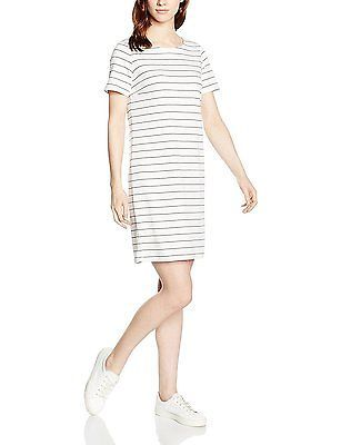 Size 6 (Manufacturer Size:X-Small), Mehrfarbig (Snow White Stripes:TOTAL ECLIPSE
