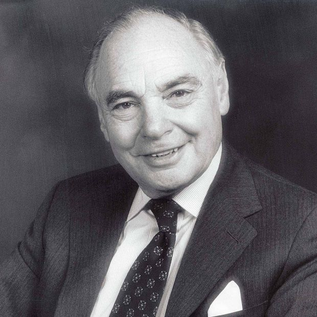 Harry Oppenheimer (1908-2000) was born in Kimberley, South Africa and groomed from an early age to succeed his father Sir Ernest Oppenheimer as head of Anglo-DeBeers.