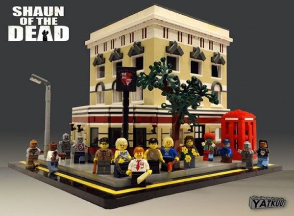 Shaun of the Dead Lego Set...Yes!