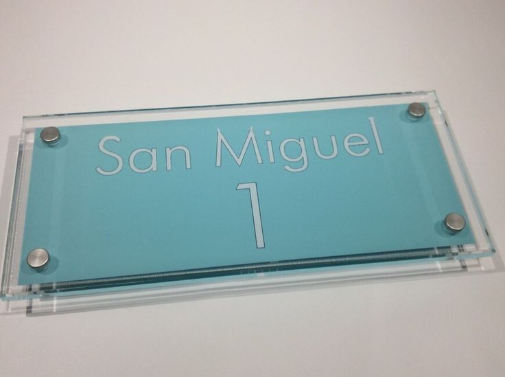 San Miguel anyone? How about a San Miguel House Sign from www.de-signage.com