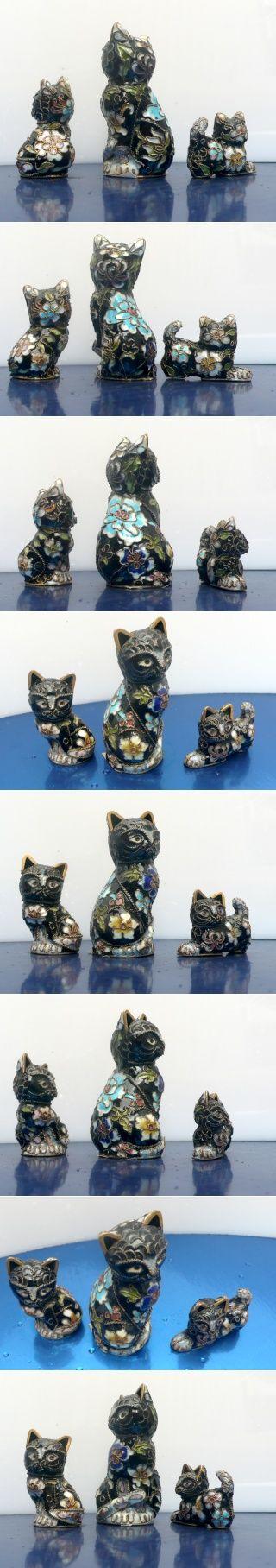 cloisonne 3 cat family
