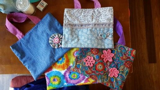 One of a kind mini tote bsgs
