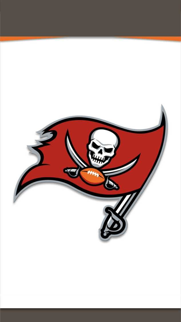 I Made Phone Wallpapers Based On The Jerseys Of Every Nfl Team With Throwbacks As An Added Bonus Tampa Bay Buccaneers Logo Buccaneers Football Tampa Bay Buccaneers