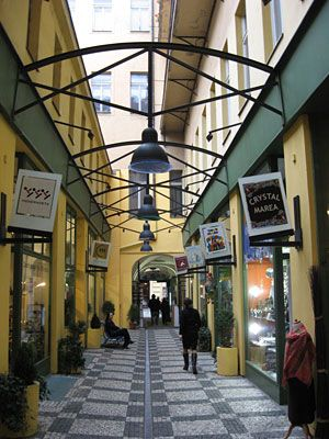 Prague - Des passages de la Vieille-Ville...