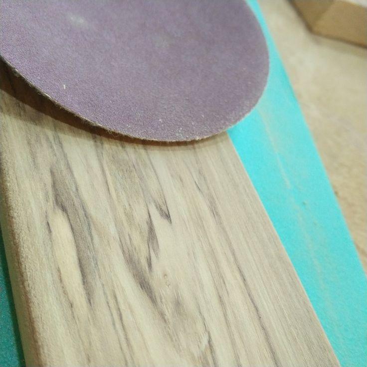 Polished old acacia,  natural wood Diy handmade
