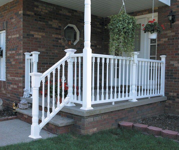 17 best images about garden on pinterest arbors silver for Concrete patio railing