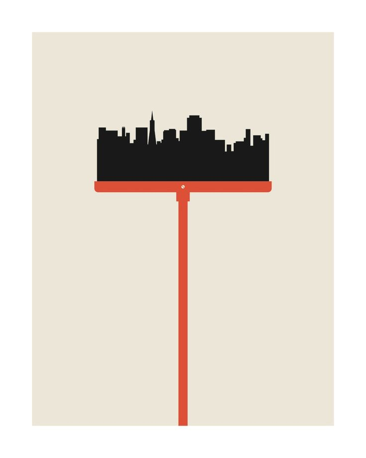 """San Francisco """"Clean Sweep"""" poster"""