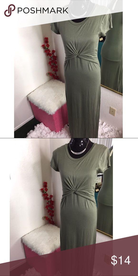 Beautiful olive green long dress Brand new Dresses Maxi