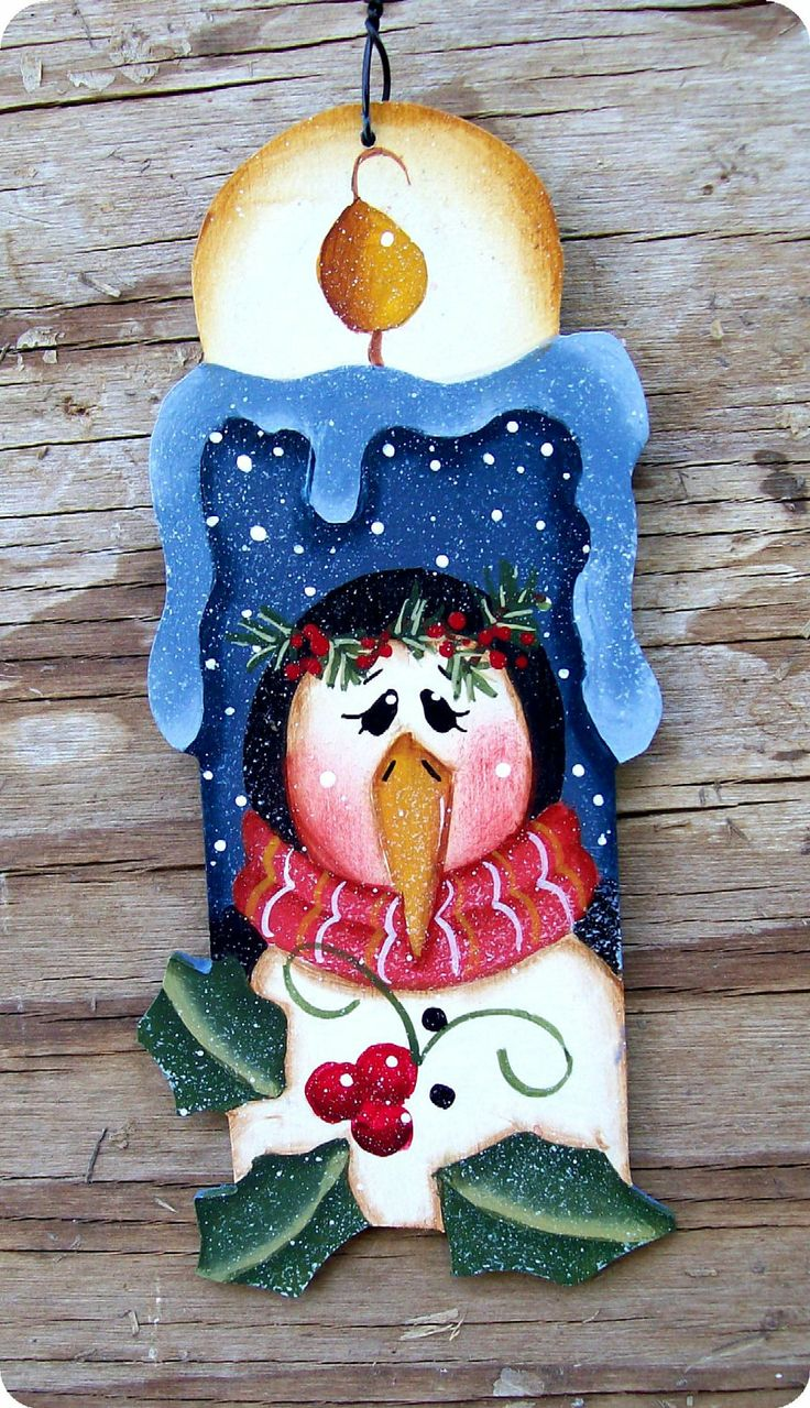 Penguin Thyme Candle Ornament por CountryCharmers en Etsy, $8,00