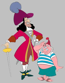 Captain Hook & Mr. Smee  for halloween