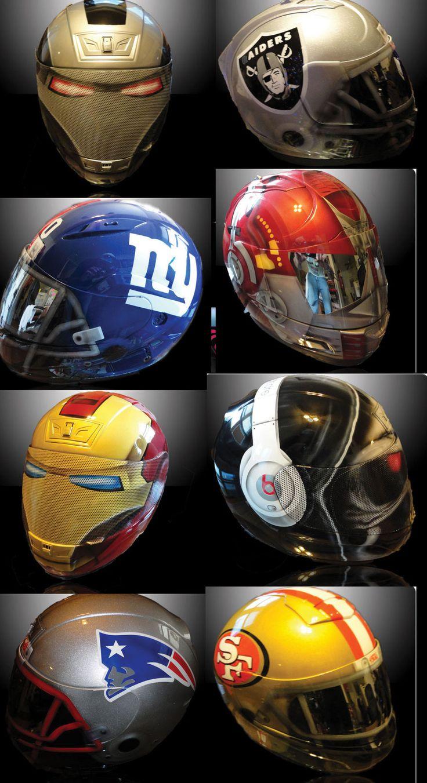 Custom motorcycle helmets http://www.airgraffix.com/  Would love to have a FSU helmet!