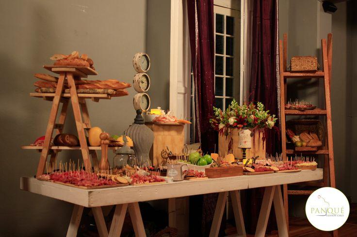Barra de quesos y carnes fr as para fiestas taller for Barra bar vintage
