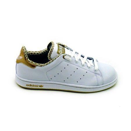 Adidas Stan Smith - Blanc / Imprim� Or