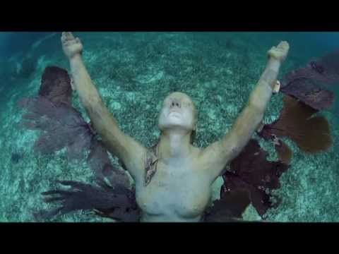 Underwater sculptor - Cultural heritage?  Human Nature by Jason deCaires Taylor Official Channel