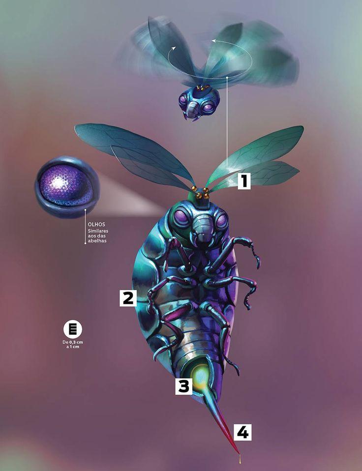 """A picada desse inseto de """"Animais Fantásticos"""" não coça nada, mas causa um efeito muito pior... flutuação!"""