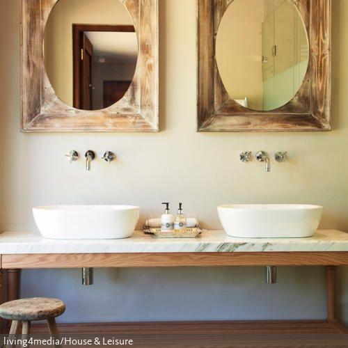 Более 25 лучших идей на тему «Badezimmer zwei waschbecken» на - farbe für badezimmer