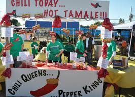 Image result for chili cook off table decorations