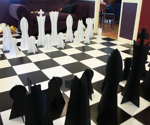 Whilst an artist in residence at Instructables, I took up playing chess at lunch times against Dave. With chess on the brain, when I went home at nigh...