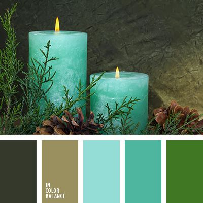 holiday color palettes