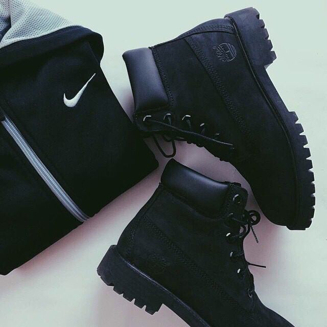 Could never have too many black footwear in anything.