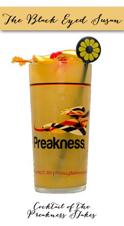 Woodlawn Vase Preakness | The Black Eyed Susan Cocktail of the Preakness Stakes