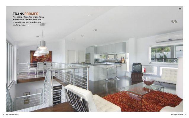 contemporary home design - beautiful warehouse renovation