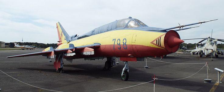 Soviet Suchoj SU-22 M-4 (Fitter-K) 1977 Luftwaffe Museum Gatow Berlin