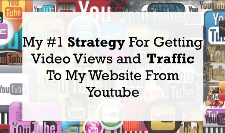 My #1 strategy for getting video views and traffic to my website from Youtube.