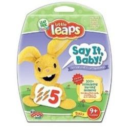 LeapFrog: LeapFrog Baby: Little Leaps: Say It Baby! Age: 9 + Months Language: English UPC: 708431102170