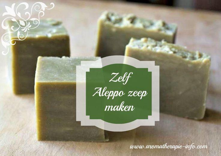 Hier vind je een recept om zelf Aleppo zeep te maken. Een hele fijne natuurlijke zeep die je veelzijdig kunt gebruiken.