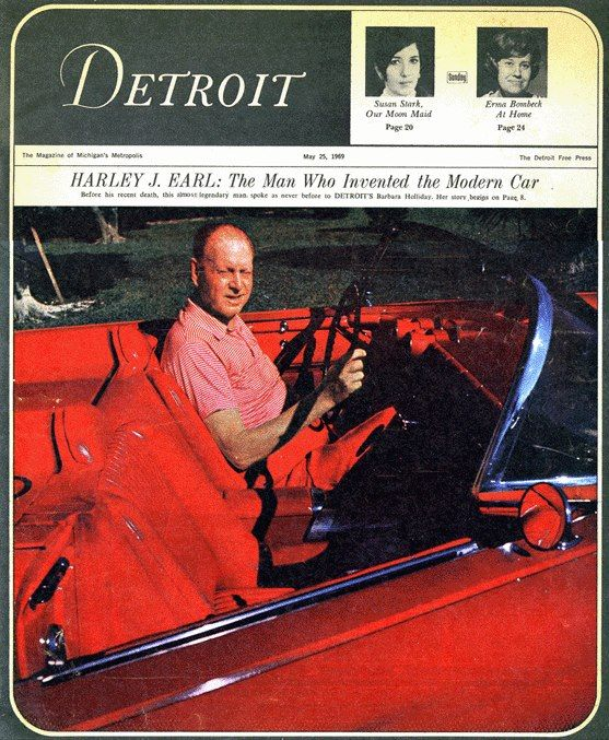 Who Invented The Automobile: 1000+ Images About Harley Earl On Pinterest