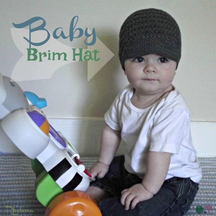 Mejores 202 imágenes de Headwear - crochet en Pinterest   Ganchillo ...