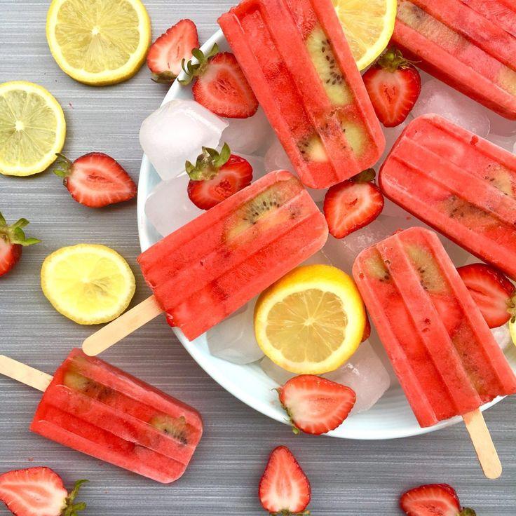 Strawberry Lemon Popsicle {SNEAKY SUNDAY RECIPE}