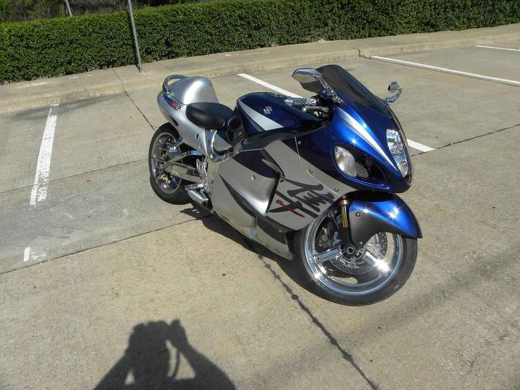 Used 2005 Suzuki GSX-R1300 Hayabusa Motorcycles For Sale in Texas,TX. Offered for sale is one of the nicest Hayabusa's we've ever had the pleasure to offer to the public. She's got a polished chrome frame, chrome engine covers, chrome swing arm, chrome grab rail, and chrome wheels. 2005 is the year model. After market mirrors and grips. Starts, runs, and rides fantastic. Better hurry on this one!Clean clear title on all of our bikes. Come see her at 200 E. Clarendon Dr. Dallas, Texas 75203…