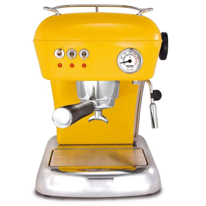 Ascaso Dream Espresso Machine yellow