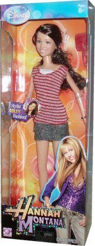 Fashion Doll: Disney Hannah Montana and Friends 12 Inch Stylin Fashion Doll…