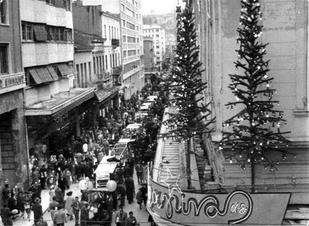 Η χριστουγεννιάτικη παλιά Αθήνα - Σπάνιες, ρετρό εικόνες άλλης εποχής