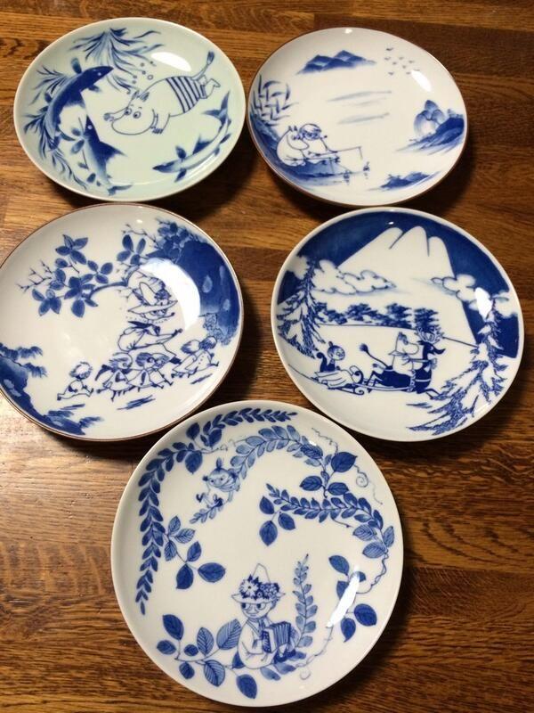 Mumin plates