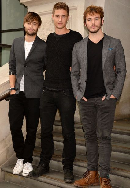Douglas Booth, Sam Claflin and Max Irons