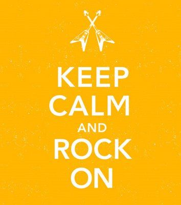 Keep Calm: Rockon Keepcalm