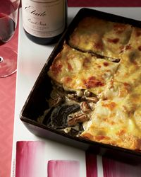 Wild Mushroom Lasagna Recipe from Food & Wine - Seriously one of my favorite recipes, ever!