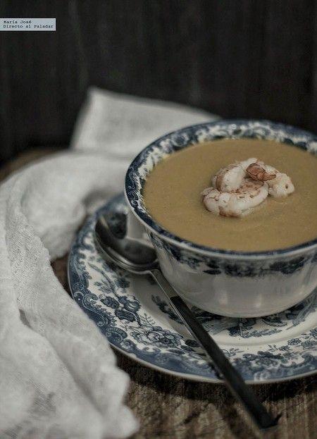 Crema de gambas con Thermomix, receta deliciosa  ¡más fácil imposible!