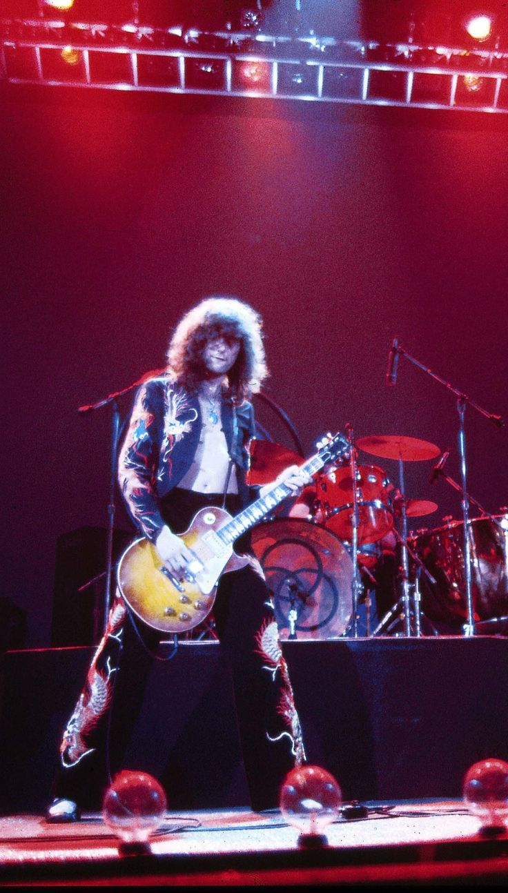 Led Zeppelin Lives Here — 10 Very High Quality Pictures of Jimmy Page...