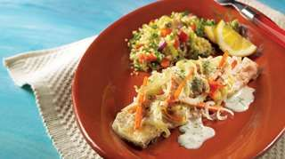Papillotes de mérou au fenouil, sauce crémeuse aux herbes fraîches | Recettes IGA | Barbecue, Poisson, Recette facile
