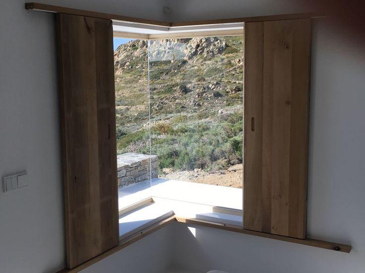 Accoya Alder wooden internal shutters