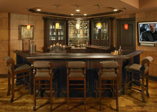 Daft little home bar ideal for smaller spaces - Decoist